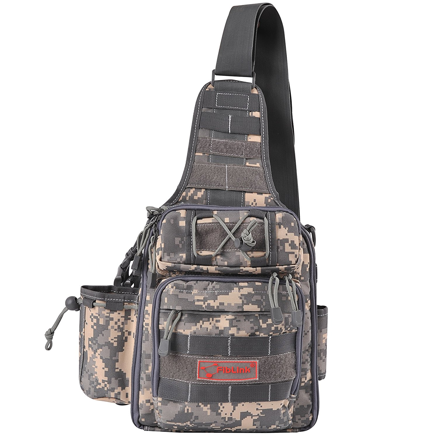 Fiblink Single Shoulder Fishing Tackle Backpack