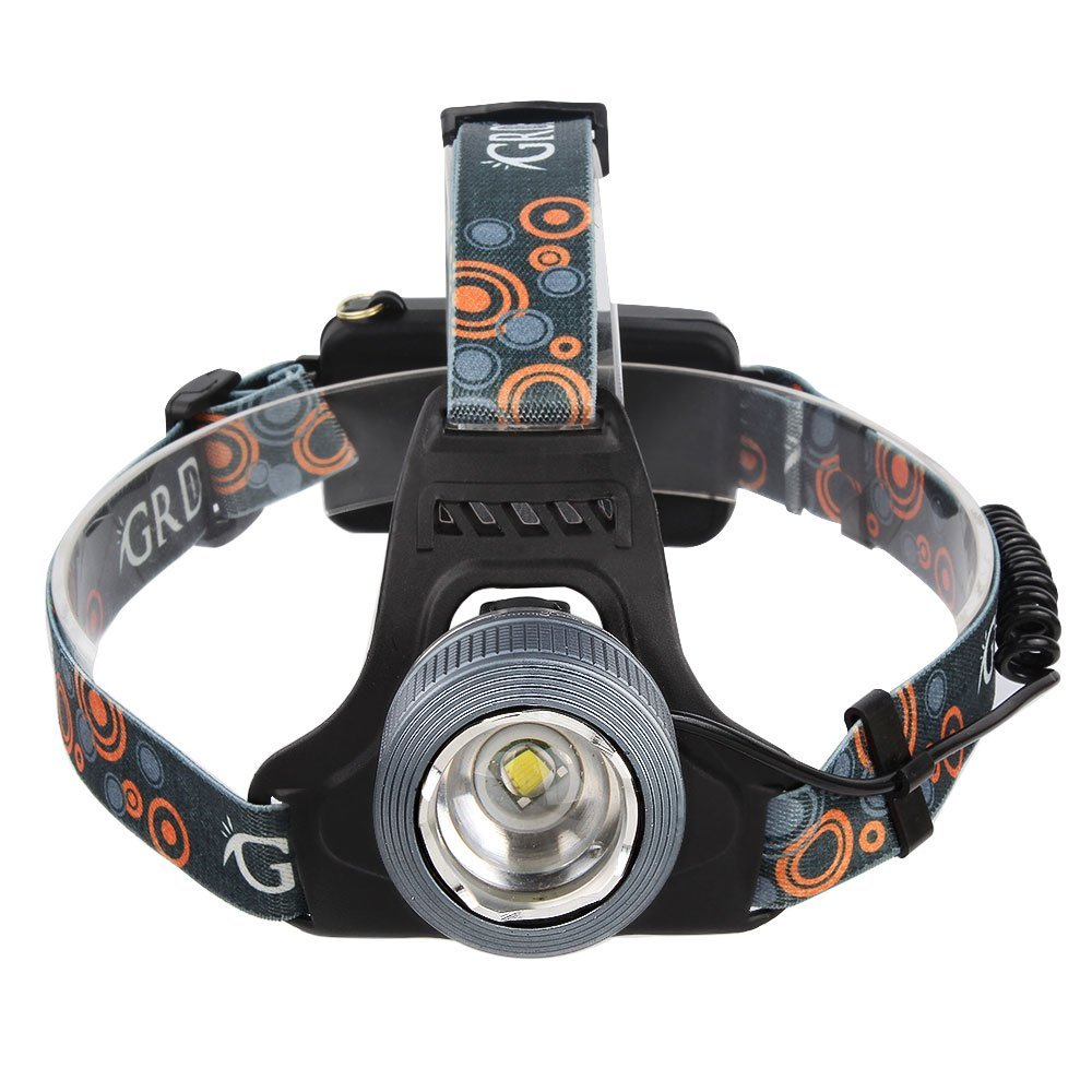 GRDE 5 Modes LED Flashlight