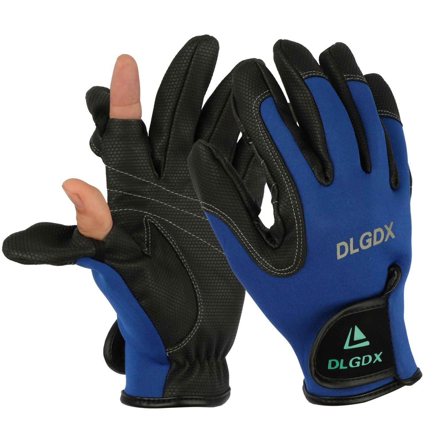 Goture Outdoor Sport 2 Cut Fingers Gloves