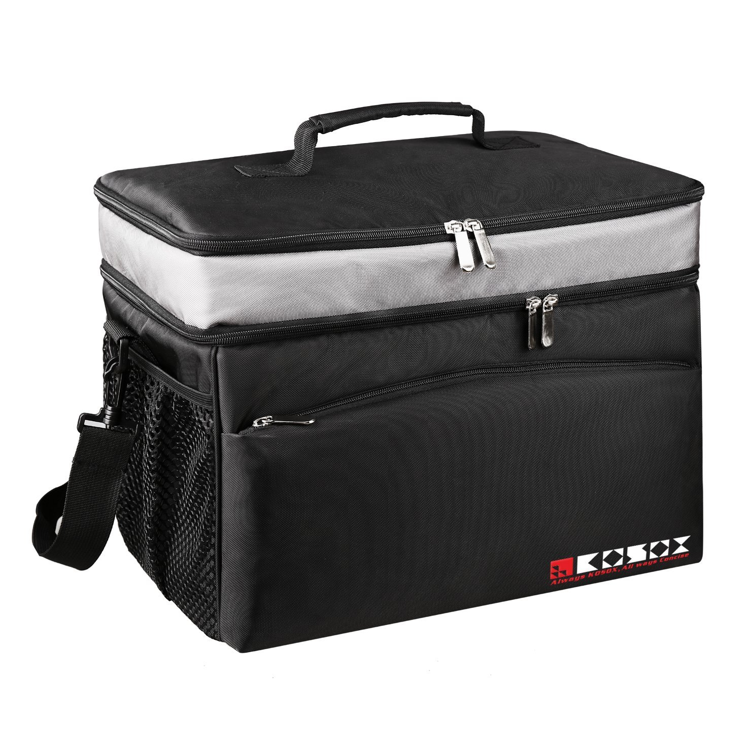 KOSOX 30-Can Collapsible Cooler Bag