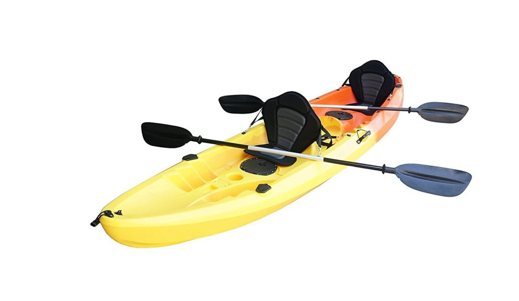 Nixie Sports 13ft Sit On Top Tandem Fishing Kayak