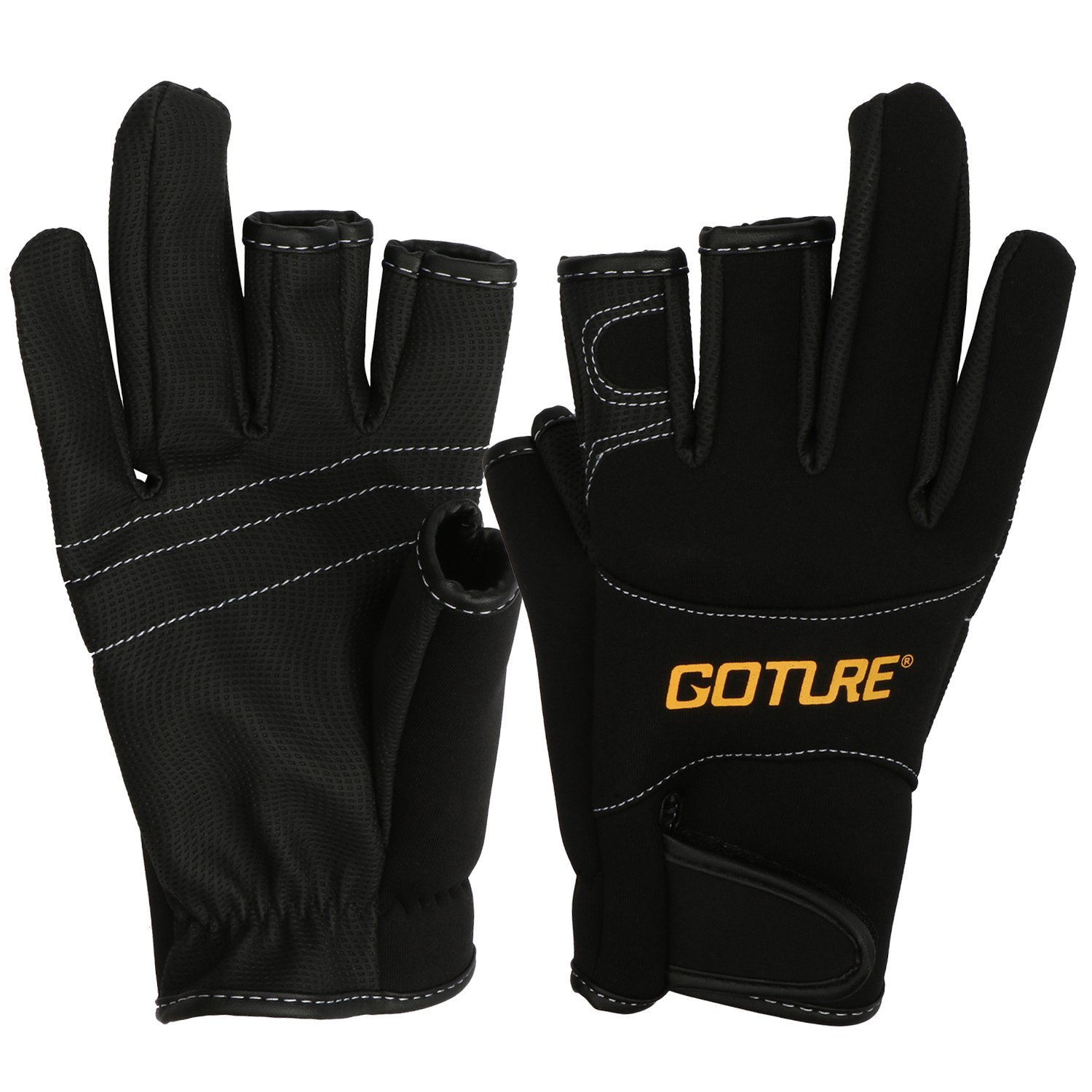 Shelure Anti-slip Fishing Gloves