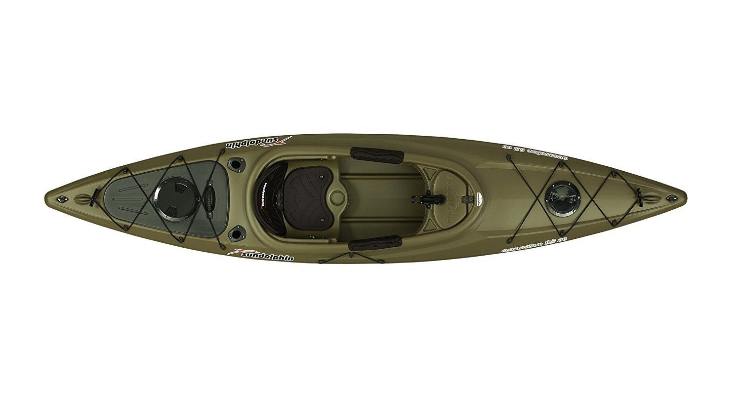 Sun Dolphin Excursion 12-Foot Sit-in Fishing Kayak