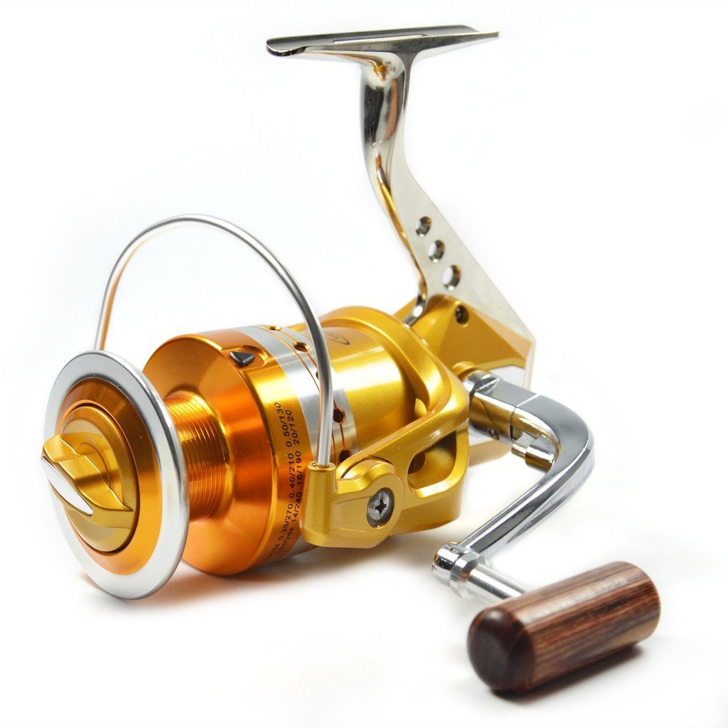Supertrip Full Metal Aluminum Saltwater Fishing Reel