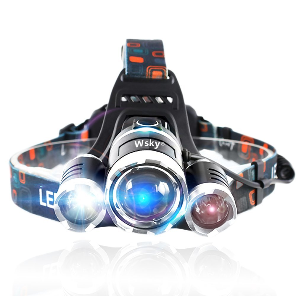 Wsky 6000 LM LED Headlamp