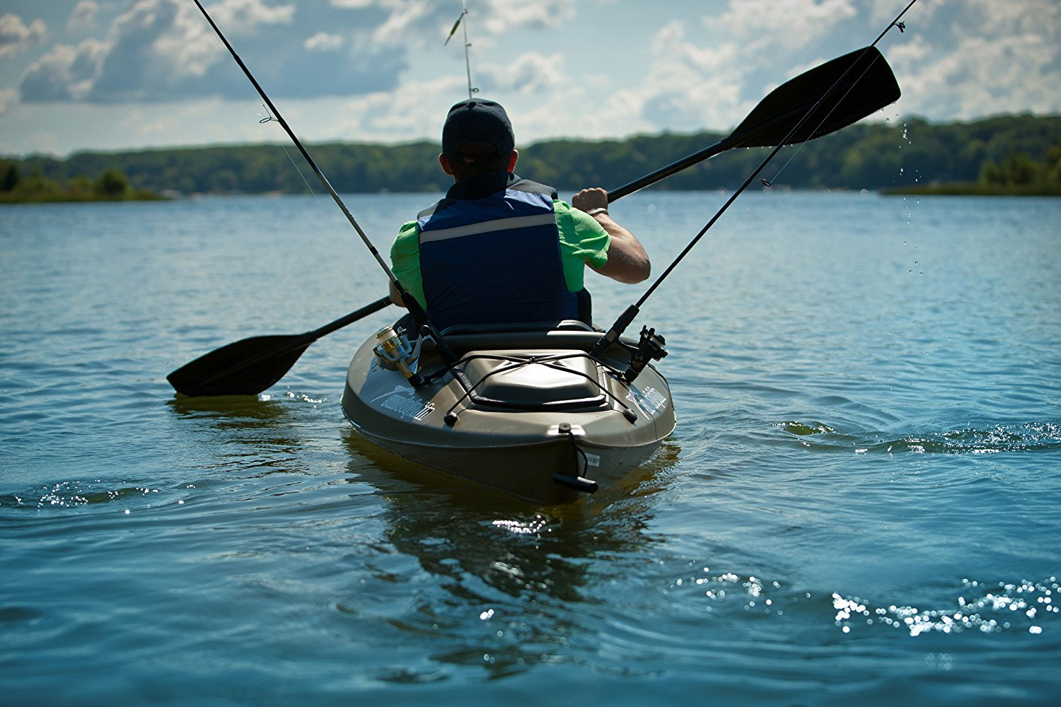 Best fishing kayaks under 400 reviews fishin things for Fishing kayaks for sale cheap