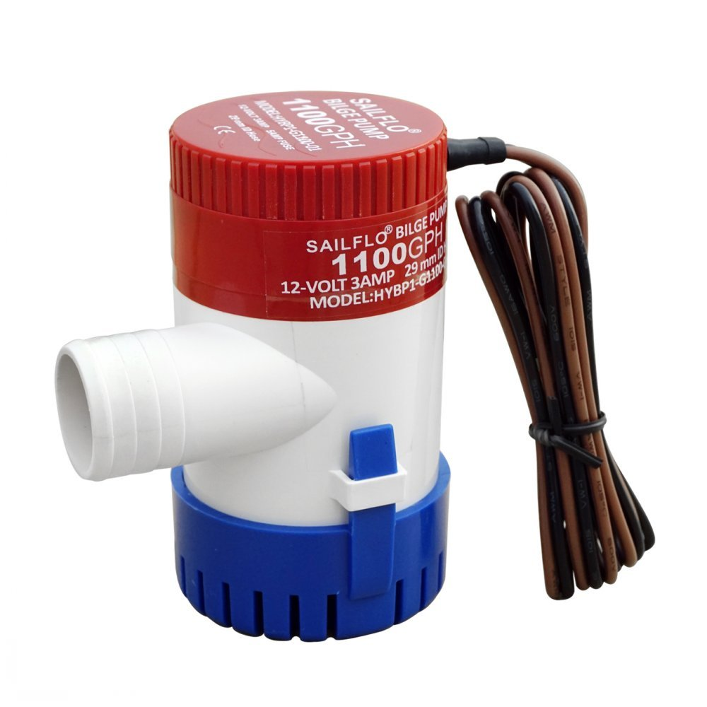 ECO-WORTHY Submersible Boat Bilge Pump