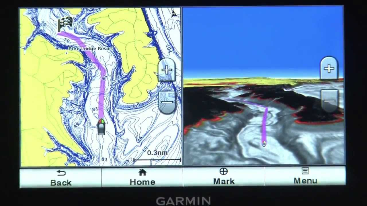 lakeVu hdmaps of Garmin