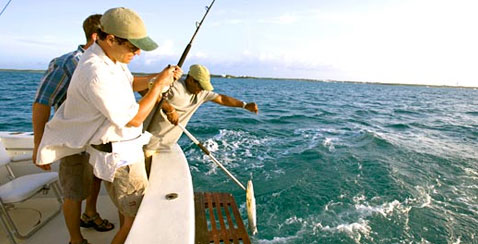 Fishing In Bimini, Bahamas