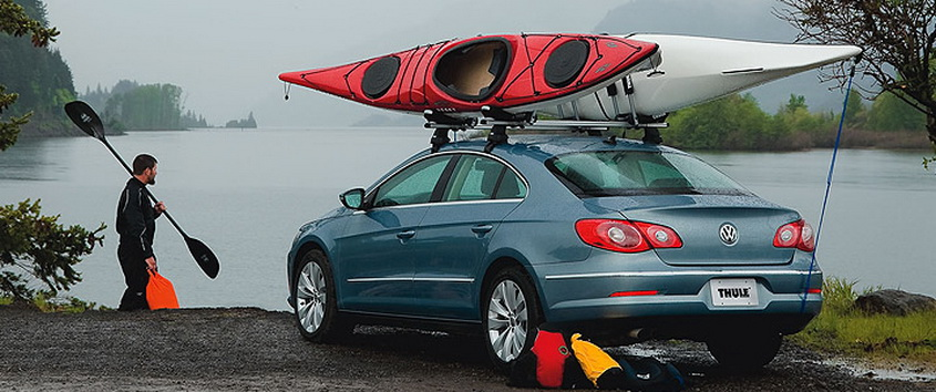 transporting fishing kayak