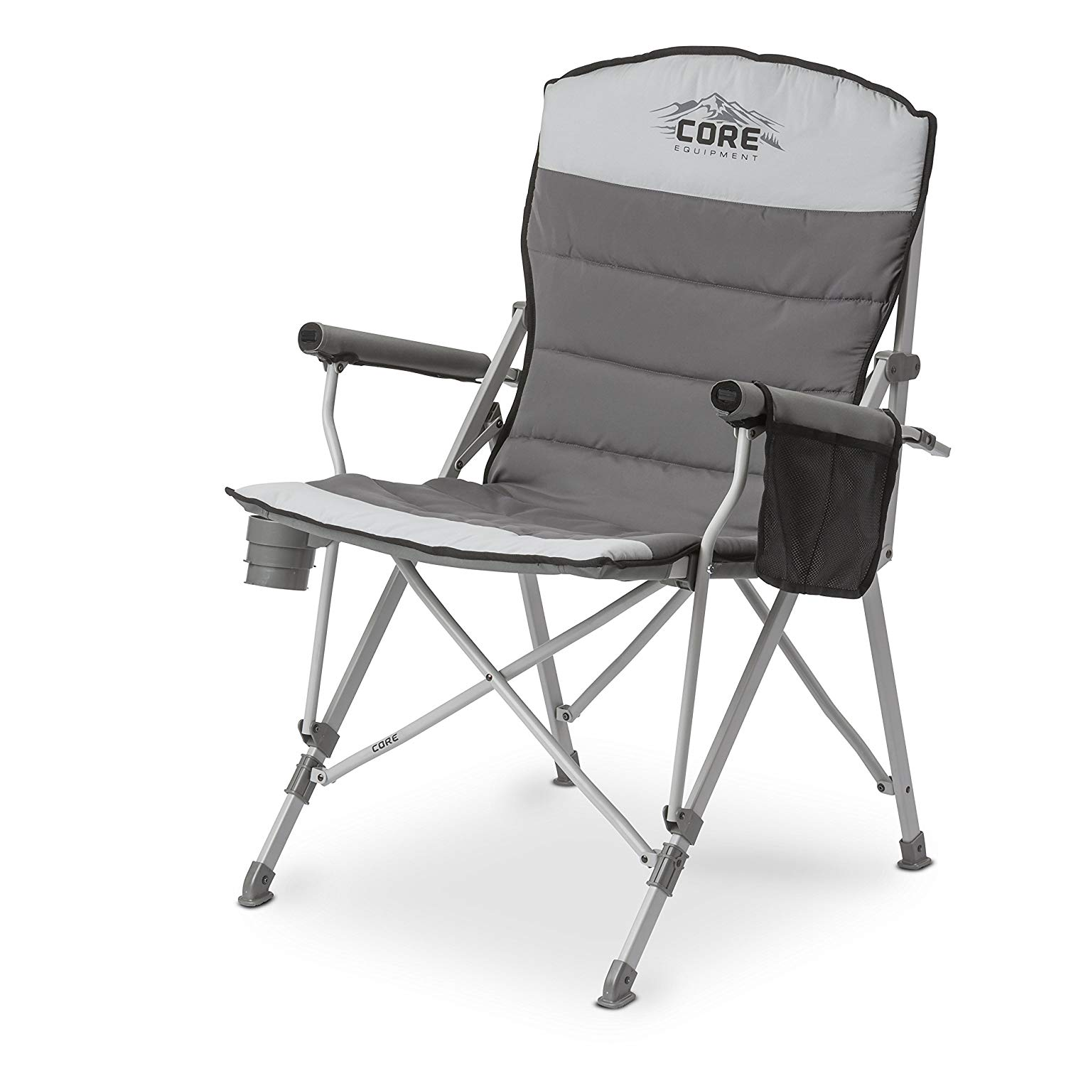CORE 40021 Folding Padded Hard Arm Chair