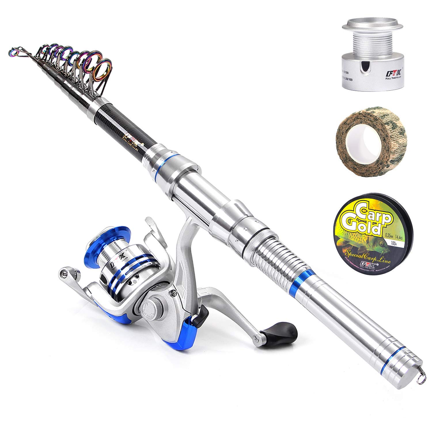 FTK Fishing Rod Reel Combo
