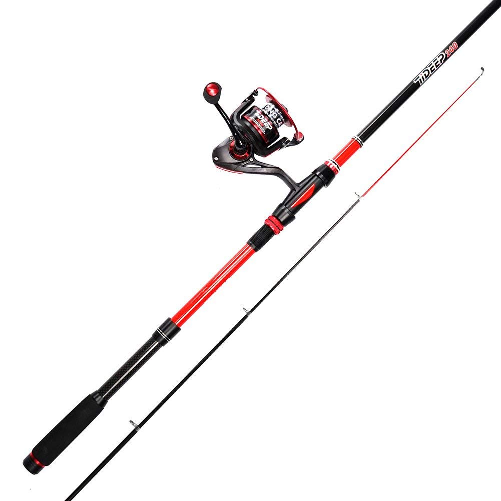 LONPAR Fishing Rod and Reel