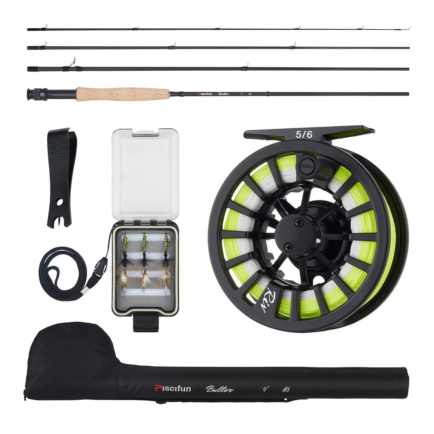 Piscifun New Fly Fishing Rod Reel