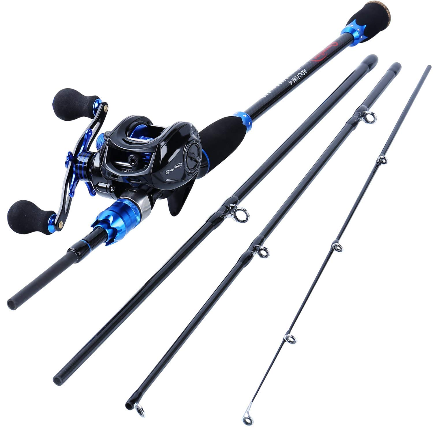 Sougayilang Fishing Reel and Rod Combos
