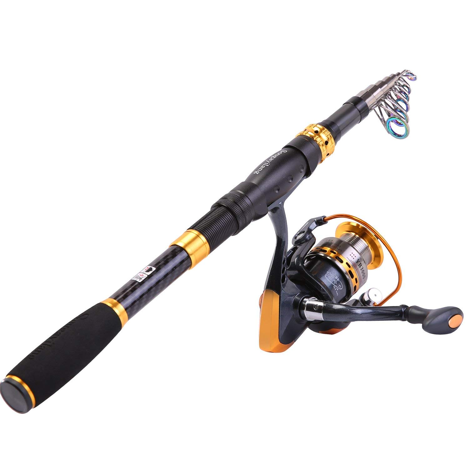 Sougayilang Fishing Rod Reel Combo